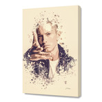 "Eminem // Stretched Canvas (16""L x 24""H x 1.5""D)"