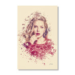 "Scarlett Johansson // Stretched Canvas (16""L x 24""H x 1.5""D)"