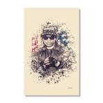 "Eazy-E // Stretched Canvas (16""L x 24""H x 1.5""D)"