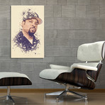 "Ice Cube // Stretched Canvas (16""L x 24""H x 1.5""D)"