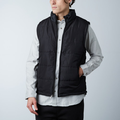 Puffer Vest // Black (S)