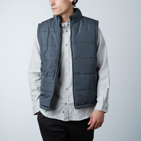 Puffer Vest // Charcoal (S)