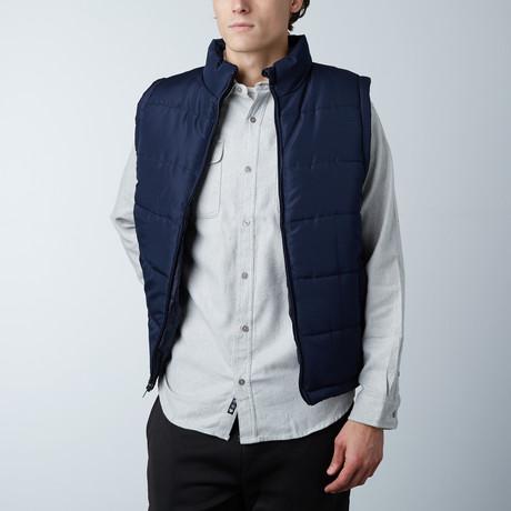 Puffer Vest // Navy (S)