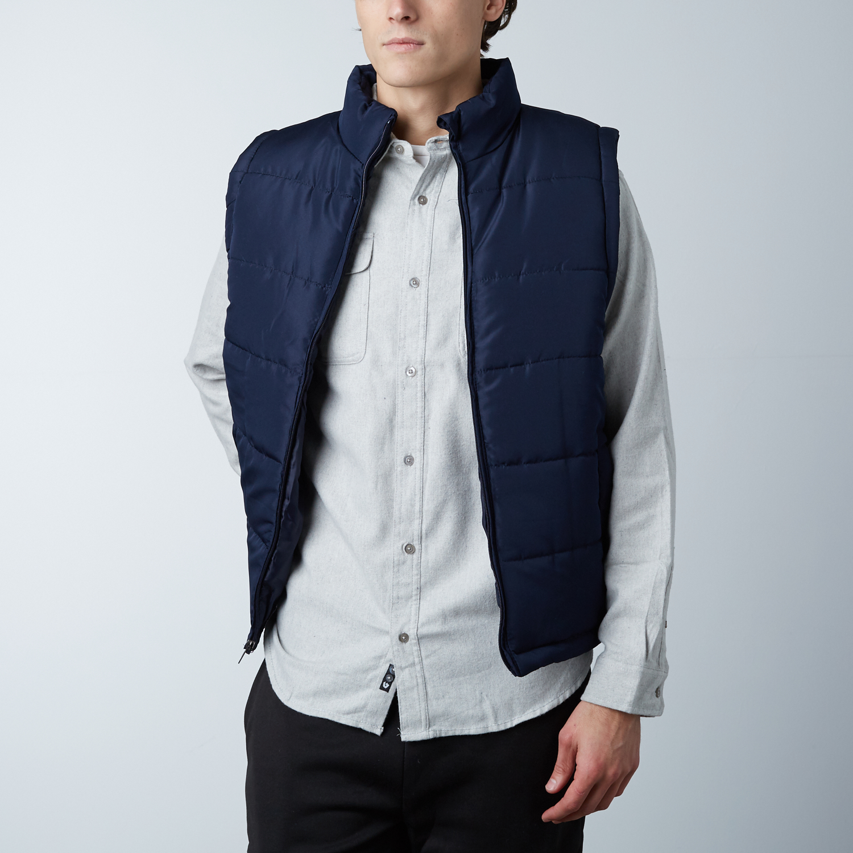 Puffer Of Touch NavysBurnside Modern Clothing Vest NPXk0O8wn