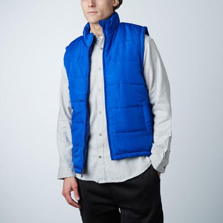 Puffer Vest // Royal (S)