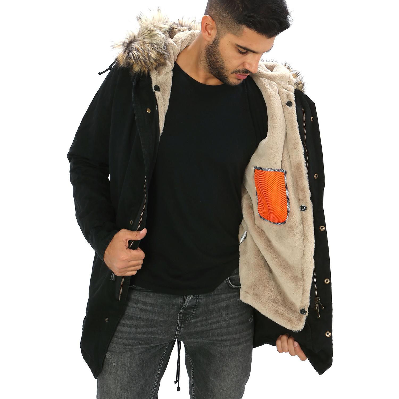 Fur Hooded Parka Jacket // Nero (S) - Viola Castellani - Touch of ...