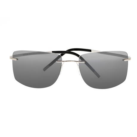 Ashton Polarized Sunglasses (Black Frame + Black Lens)