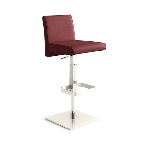 VITTORIA // Bar Stool (Burgandy)