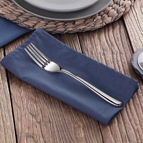 Rain II Dinner Fork // Set of 12