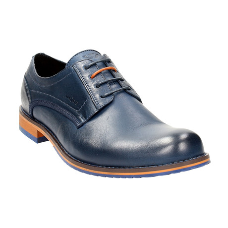 Contrast Sole Lace-Up Derby // Dark Blue (Euro: 40)