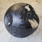 "Death Star (37"" Raw Steel)"