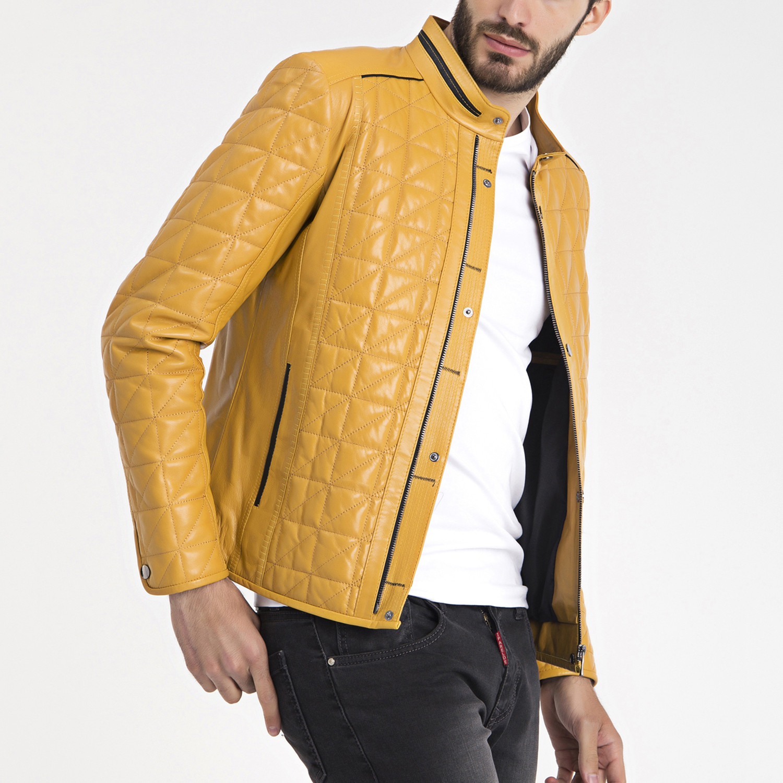 Luke leather jacket
