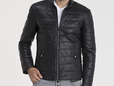 Photo of CLEARANCE: Outerwear We've Got You Covered Arris Leather Jacket // Black (L) by Touch Of Modern