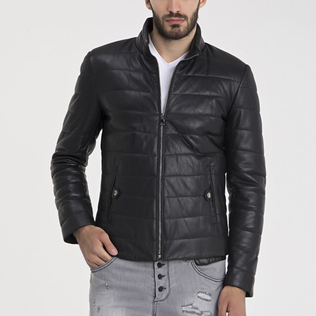 Arris Leather Jacket // Black (S)