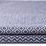 Harper // Navy Blue + White