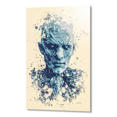 "Night King, Game of Thrones // Aluminum (16""L x 24""H x 1.5""D)"