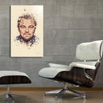 """Leonardo DiCaprio // Aluminum (16""""L x 24""""H x 1.5""""D)"""
