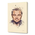 "Leonardo DiCaprio // Stretched Canvas (16""L x 24""H x 1.5""D)"