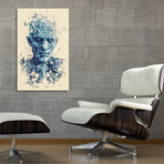 "Night King, Game of Thrones // Stretched Canvas (16""L x 24""H x 1.5""D)"
