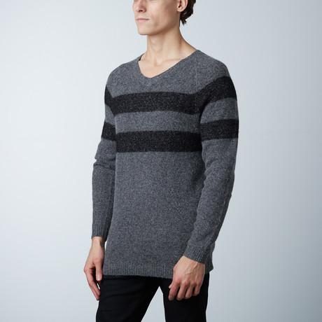 Olly Sweater Round Collar // Med Melange (S)