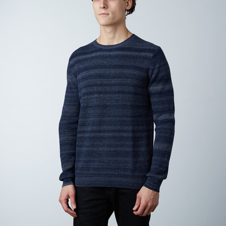 Clement Round Collar Sweater // Loud Blue (S)