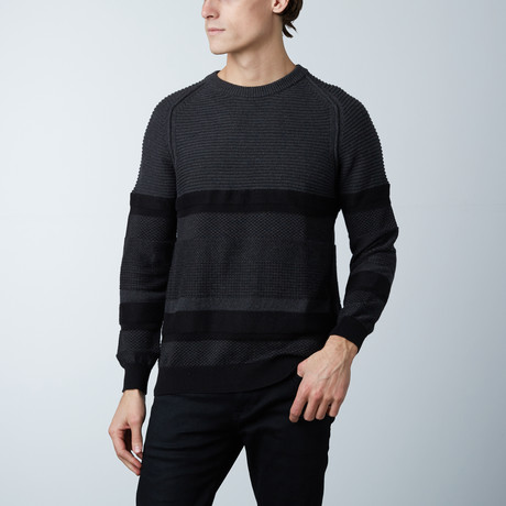 Highland Round Collar Sweater // Wood (S)