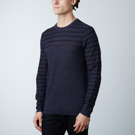 Greico Sweater // Loud Blue (S)