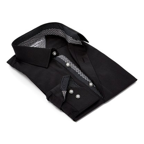 Modern Dress Shirt // Black (S)