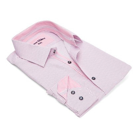 Men's Dress Shirt // Pink (S)