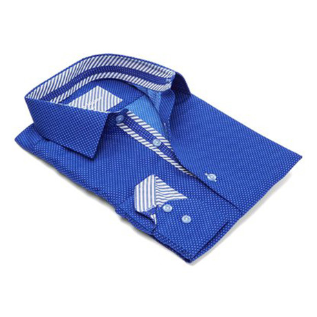 Men's Dress Shirt // Royal (S)