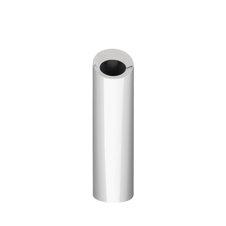 Bud Oblong Vase // Stainless Steel // Small