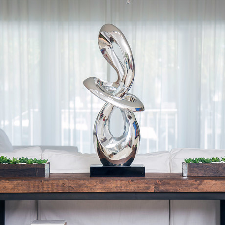 Sculpture Abstract // Chrome