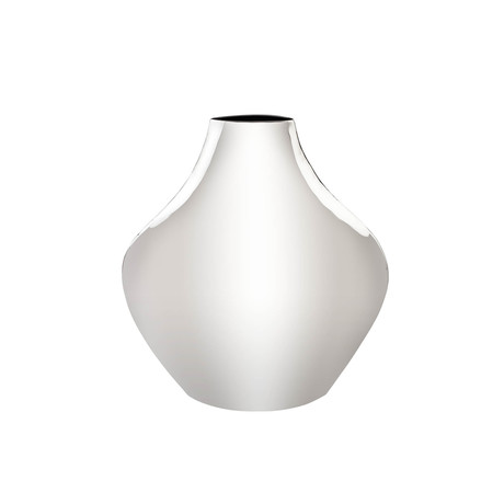 Calyx Vase // Stainless Steel // Small