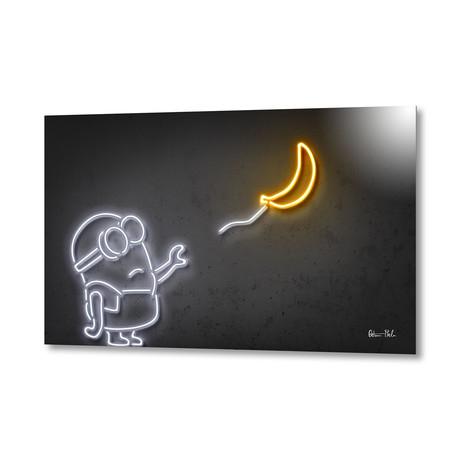 """Banana // Aluminum (24""""W x 16""""H)"""