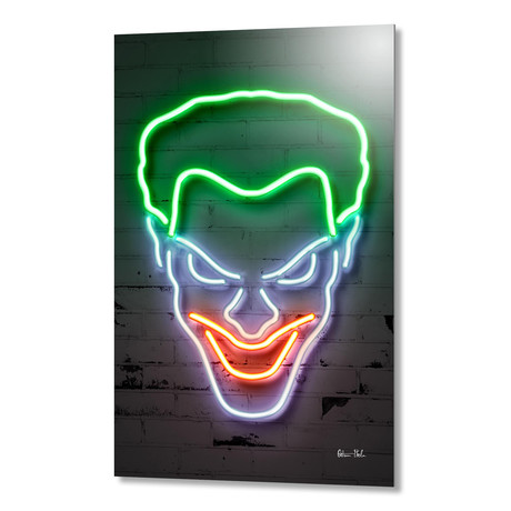 "Joker // Aluminum (16""W x 24""H)"