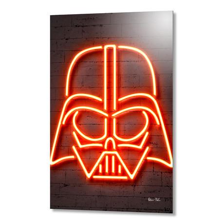 """Darth Vader // Aluminum (16""""W x 24""""H)"""