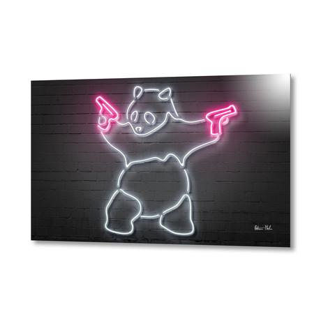 """Panda // Aluminum (16""""W x 24""""H x 1.5""""D)"""