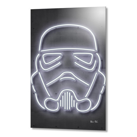 "Stormtrooper // Aluminum (16""W x 24""H)"