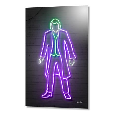 "Joker Neon // Aluminum (16""W x 24""H)"