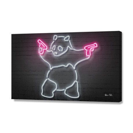 Panda // Stretched Canvas