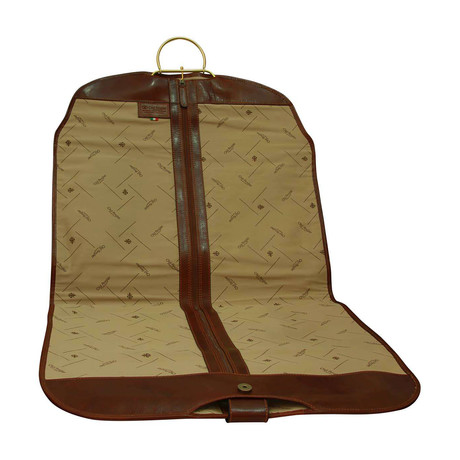 Toscana Collection // Leather Garment Bag