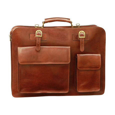 Toscana Collection // Leather Briefcase