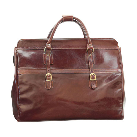 Toscana Collection // Leather Travel Bag
