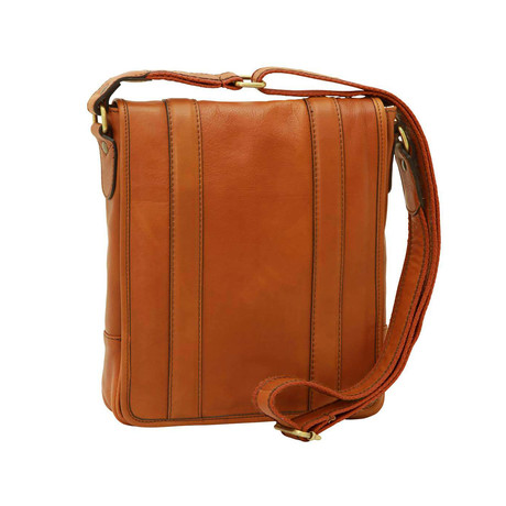 Toscana Collection // Soft Calfskin Leather Satchel Bag (Gold)