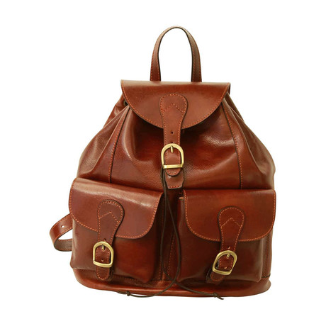 Toscana Collection // Leather Backpack