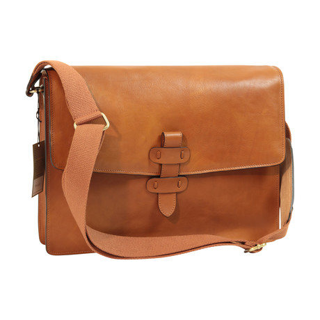 Toscana Collection // Leather Messenger Bag