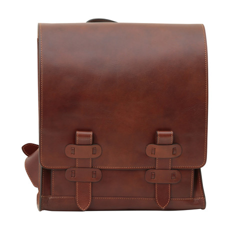 Toscana Collection // Calfskin Leather Backpack