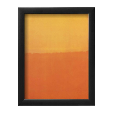 "Orange and Yellow (10""W x 13""H x 1""D)"
