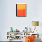 "Orange and Yellow (10""W x 13""H x 1""D)"