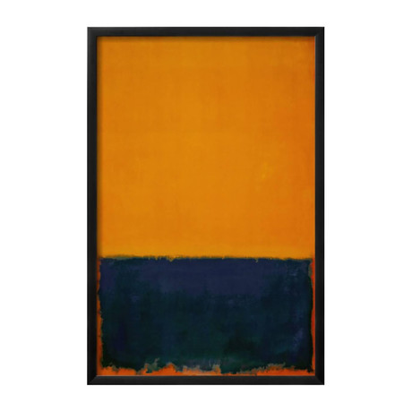 Yellow, Blue, Orange, 1955